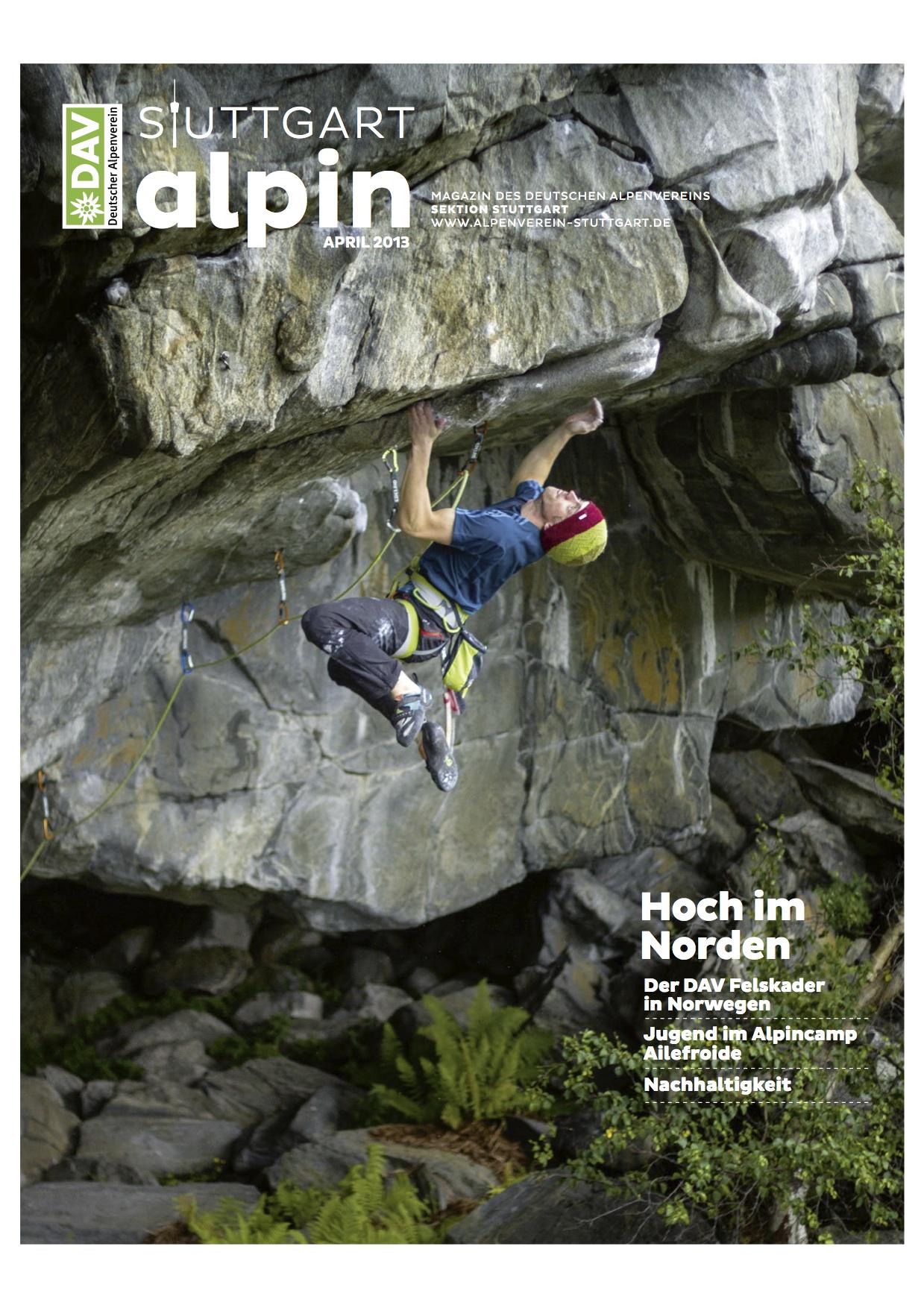 Stuttgart Alpin 2013-2_Cover